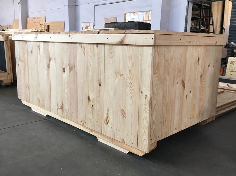 transportowe skrzynie drewniane